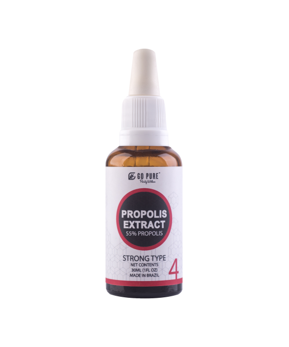 Go Pure™ Propolis Extract 55% (Strong)