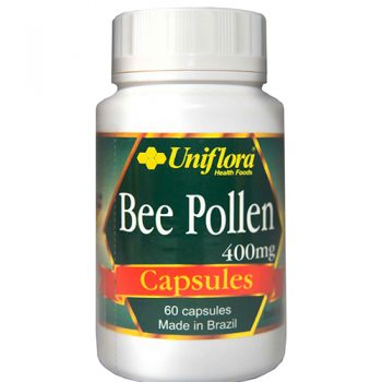 Uniflora Bee Pollen Capsules 400MG (60 caps)