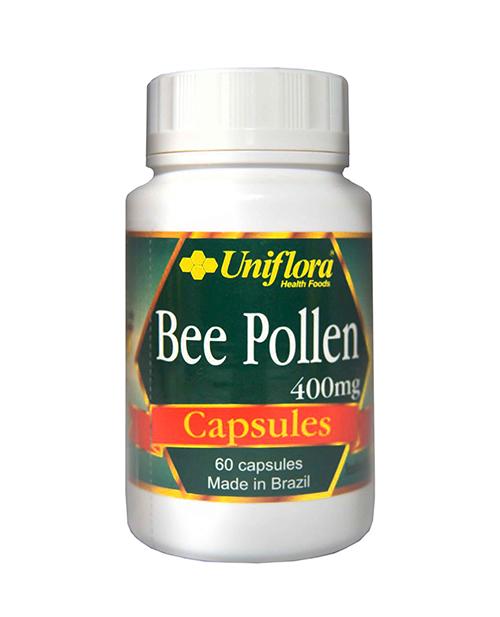 Uniflora Bee Pollen Capsules 400MG (60 caps)