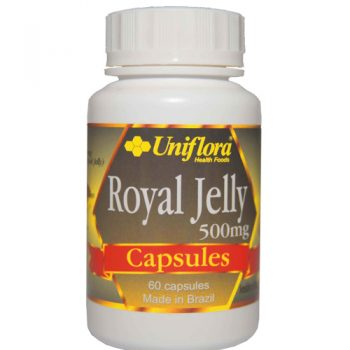 Uniflora Royal Jelly Capsules 500MG (60 caps)
