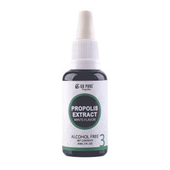 Go Pure™ Propolis Extract Alcohol Free with Mint