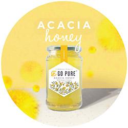Go Pure Organic/Natural Acacia Honey