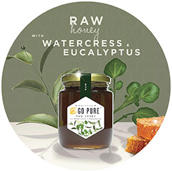Raw Honey with Watercress & Eucalyptus