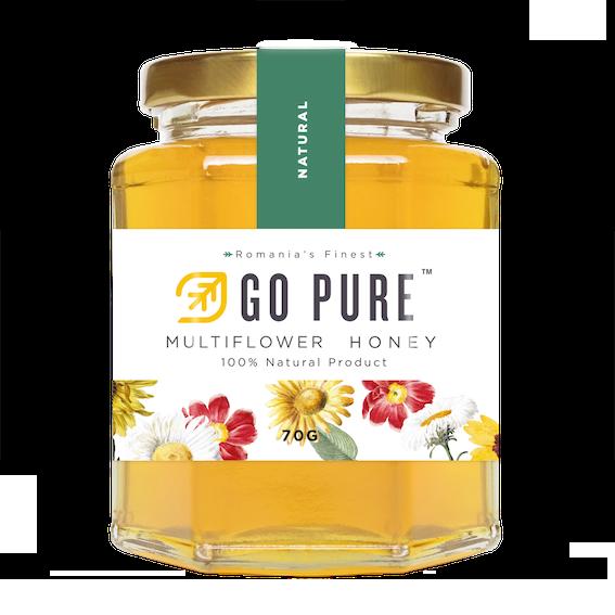 Go Pure Multiflower Honey 70G