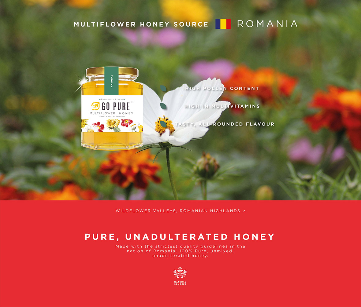 Source Multiflower Honey