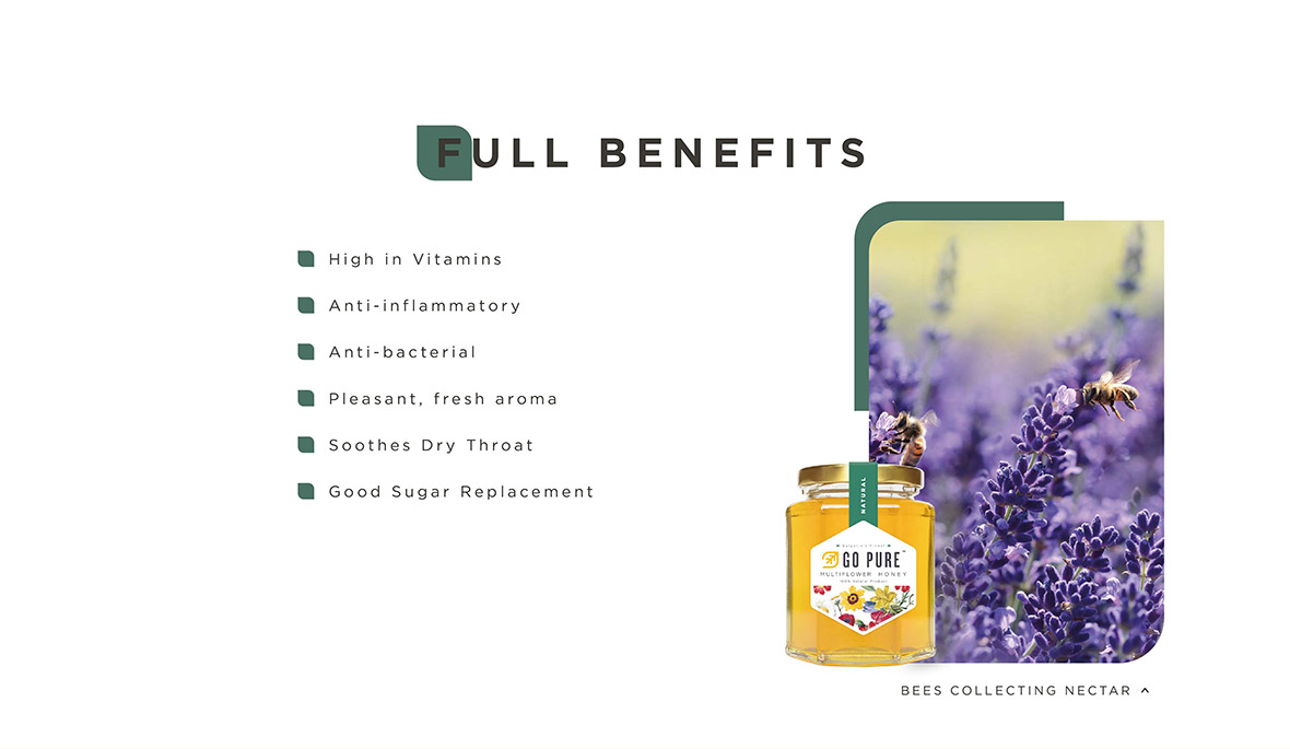 Full Benefits Multiflower Honey