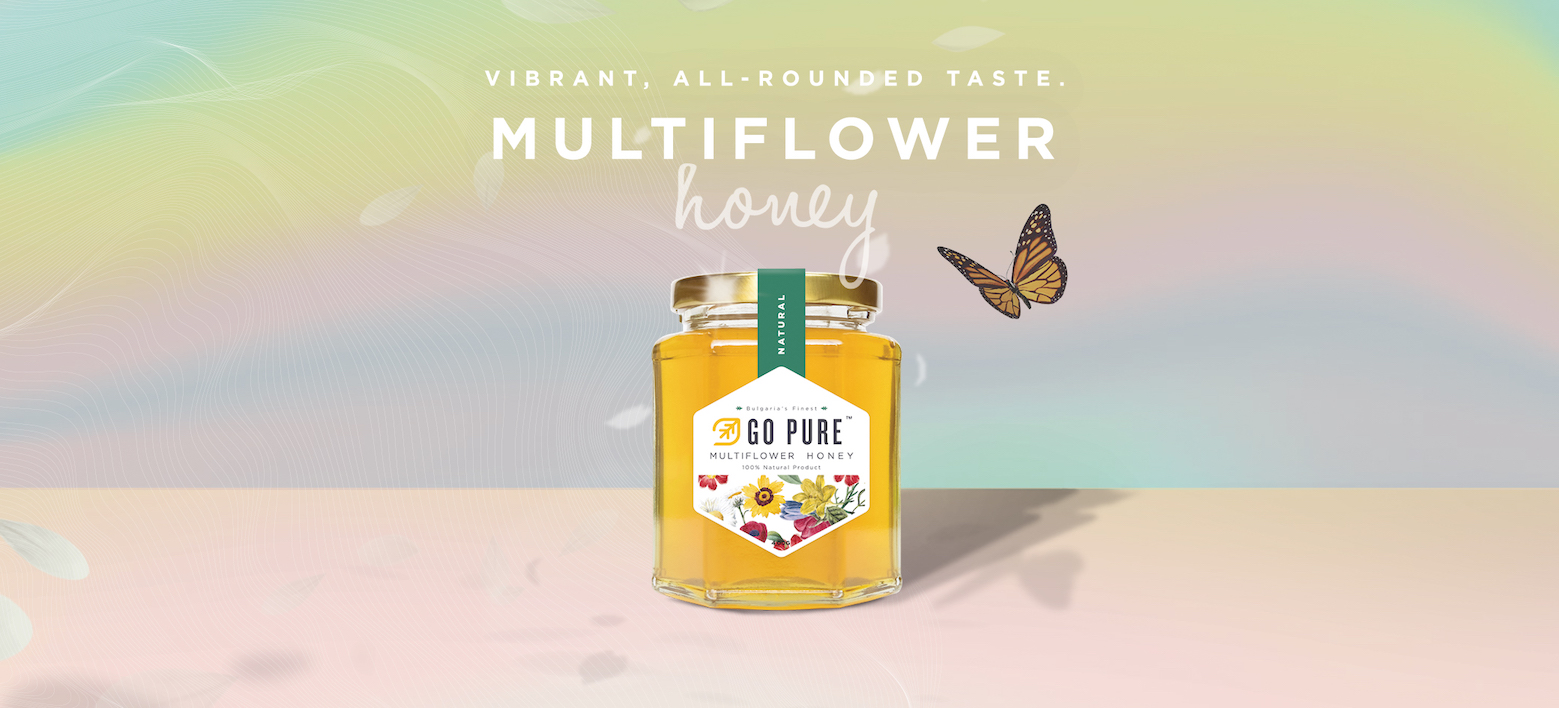 Multiflower Honey: High in Vitamins, All-rounded Flavour