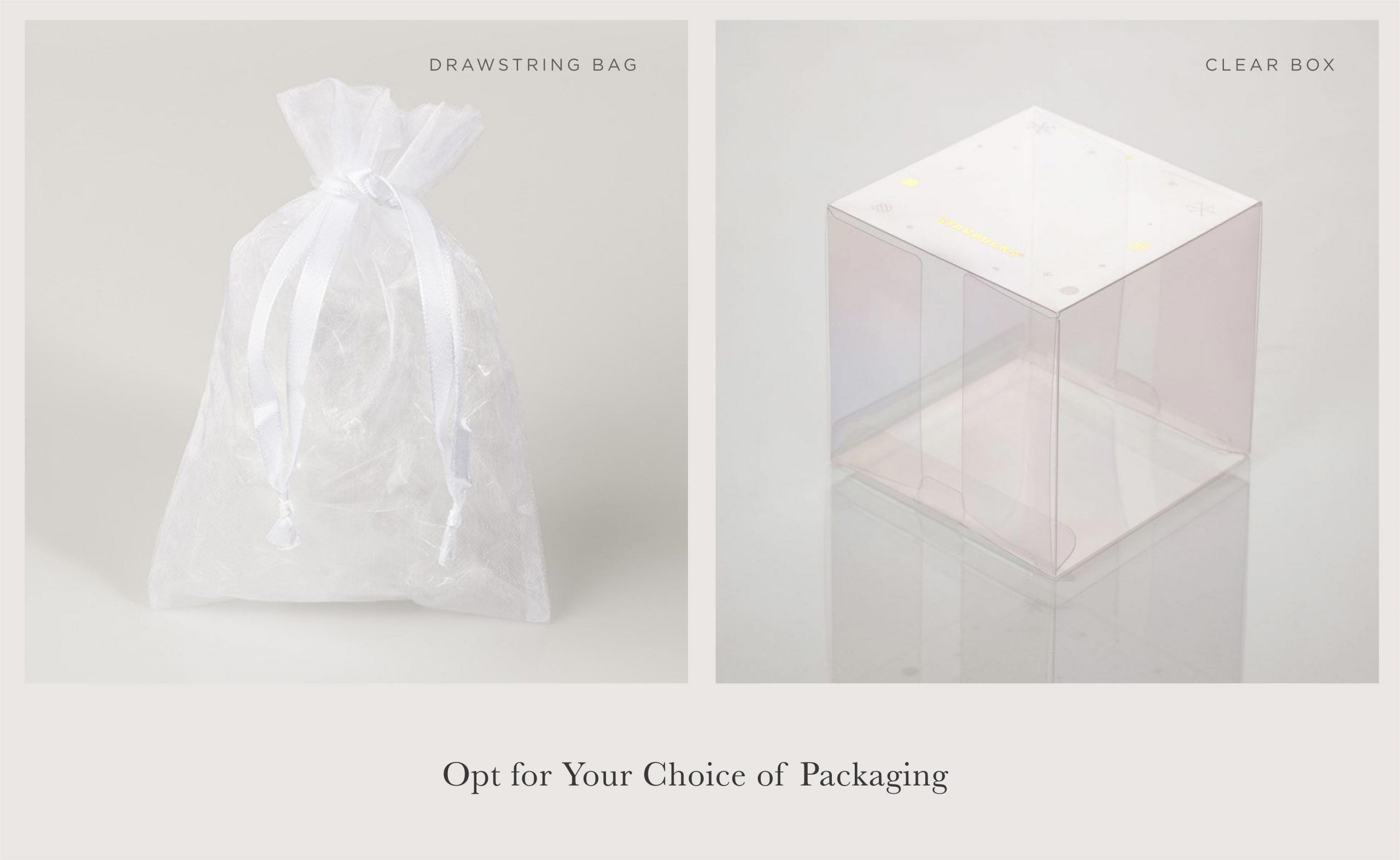 Choose Your Packaging (Optional)