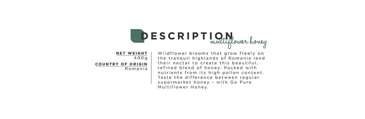 Description Multiflower Honey
