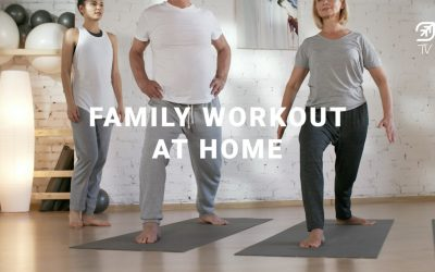 [Covid-19 Series] Ep 4: Family Workout At Home!