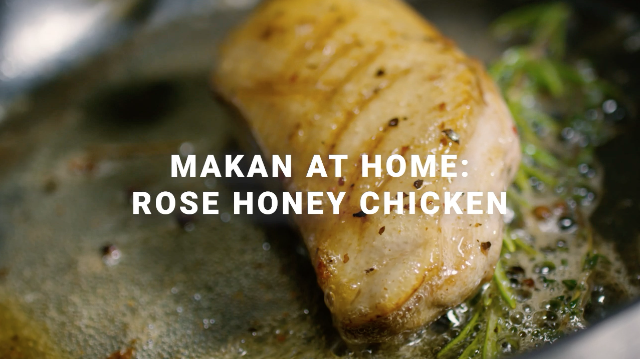 [Covid-19 Series] Ep 8:  Makan At Home! Rose Honey Chicken Recipe
